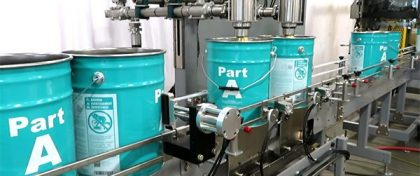 The PASE Group Metal Pail Filler, Auto Lidding & Closing