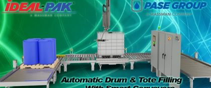 Automatic Drum & Tote Filling With Smart Conveyers