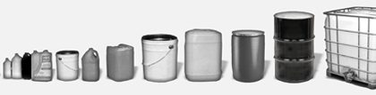 Wide Range of Containers